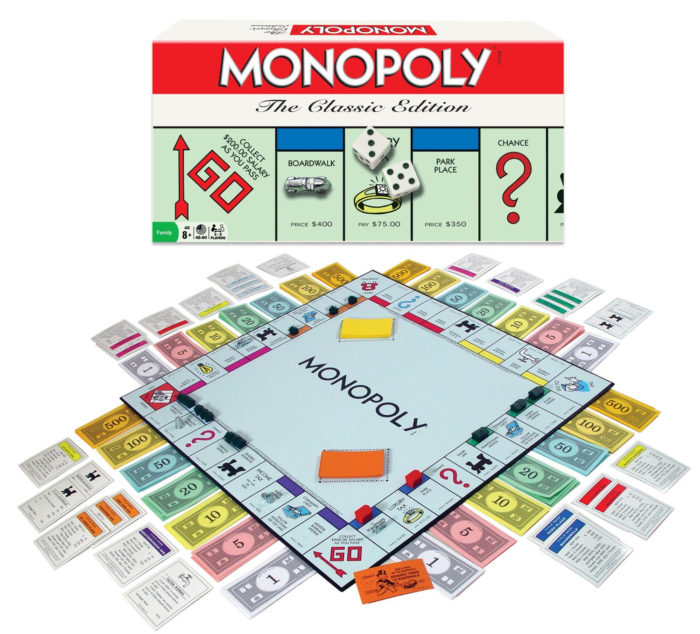 Rules for Monopoly Classic Version Board Game