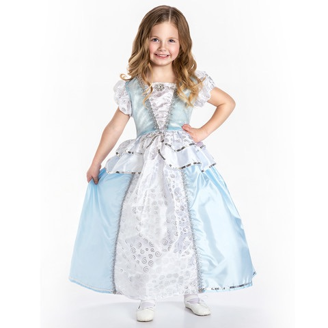 Girl's Princess Dress for Costume and Play