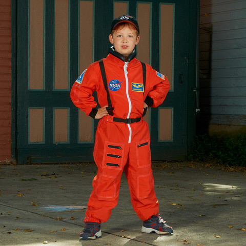 Kids NASA Suit Costume for Play
