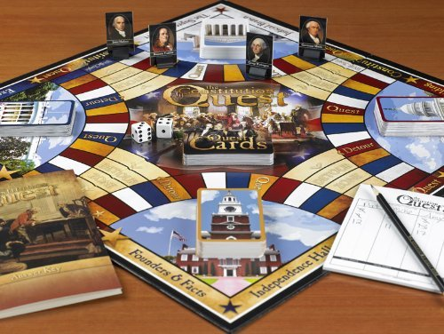 U.S. Constitution Board Game - Learn with the whole family