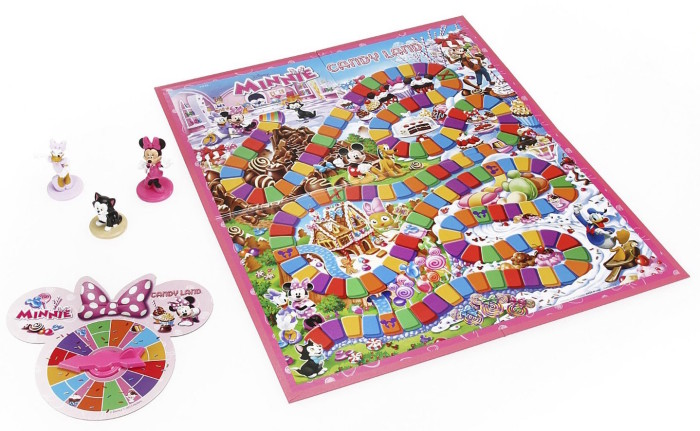Minnie Mouse Candy Land Board Game