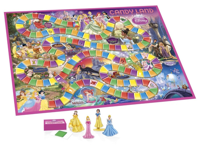 Disney Princess Board Games