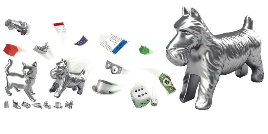 Monopoly New Pieces for Game