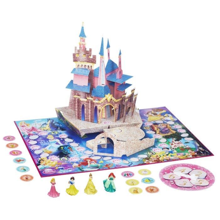 Princess Castle Disney Board Game for Kids