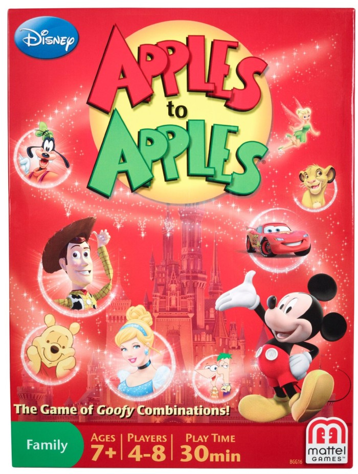 Apples to Apples Disney Version Card Game