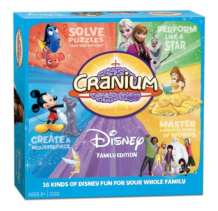 Family Disney Board Games