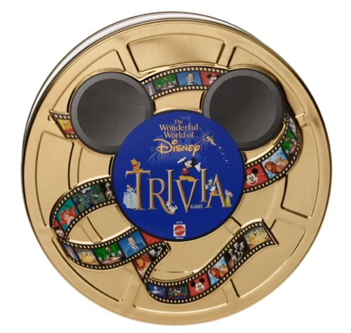 Disney Trivia Tin Card Game