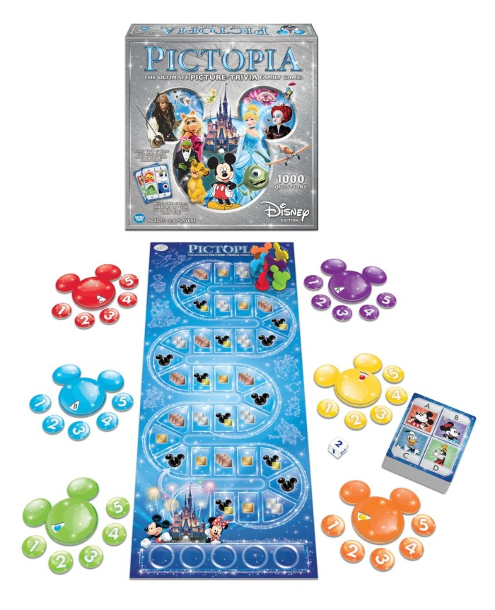 Family Fun Games with Disney