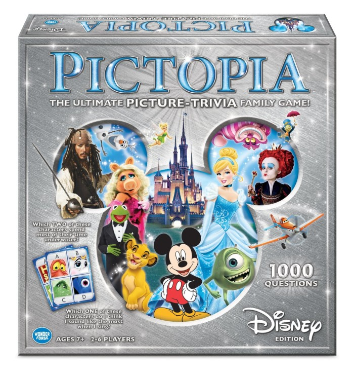 Disney Family Fun and Challenging Board Games
