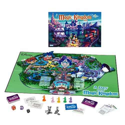 Travel to Disney with a Board Game
