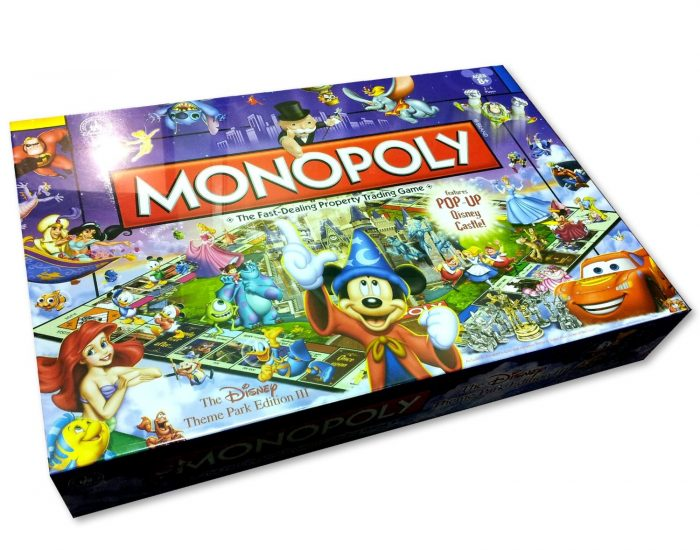 Disney Monopoly Board Game