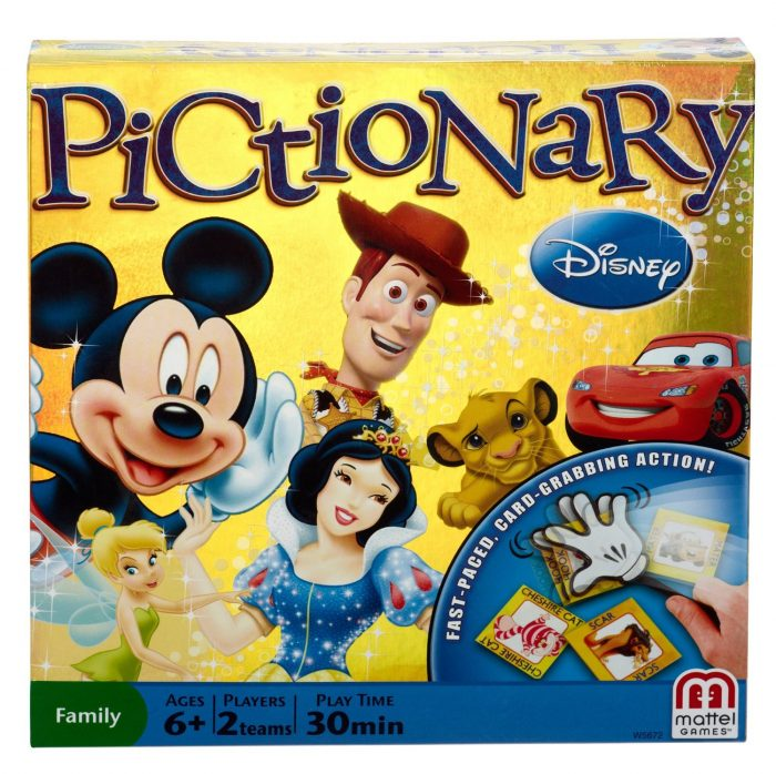 Board Games for Children with Disney Characters