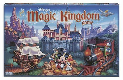 Disneyland DisneyWorld Board Game for Kids and Adults