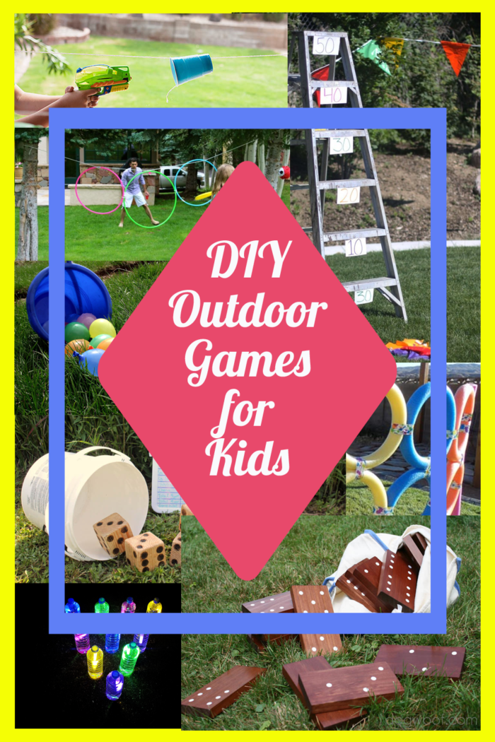 Ten Super Fun DIY Outdoor Kids Games