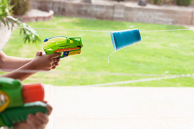 Water Gun Games to Play - Racing