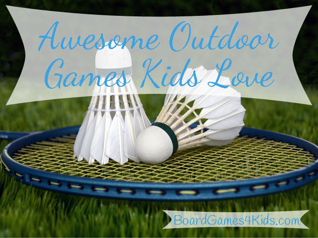 Family favorite outdoor games for kids and adults.