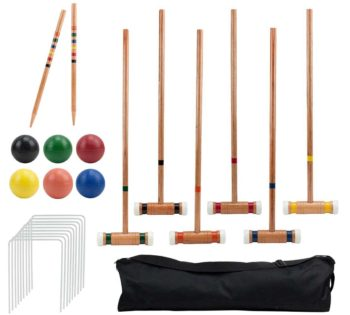 Croquet Outdoor Game Set