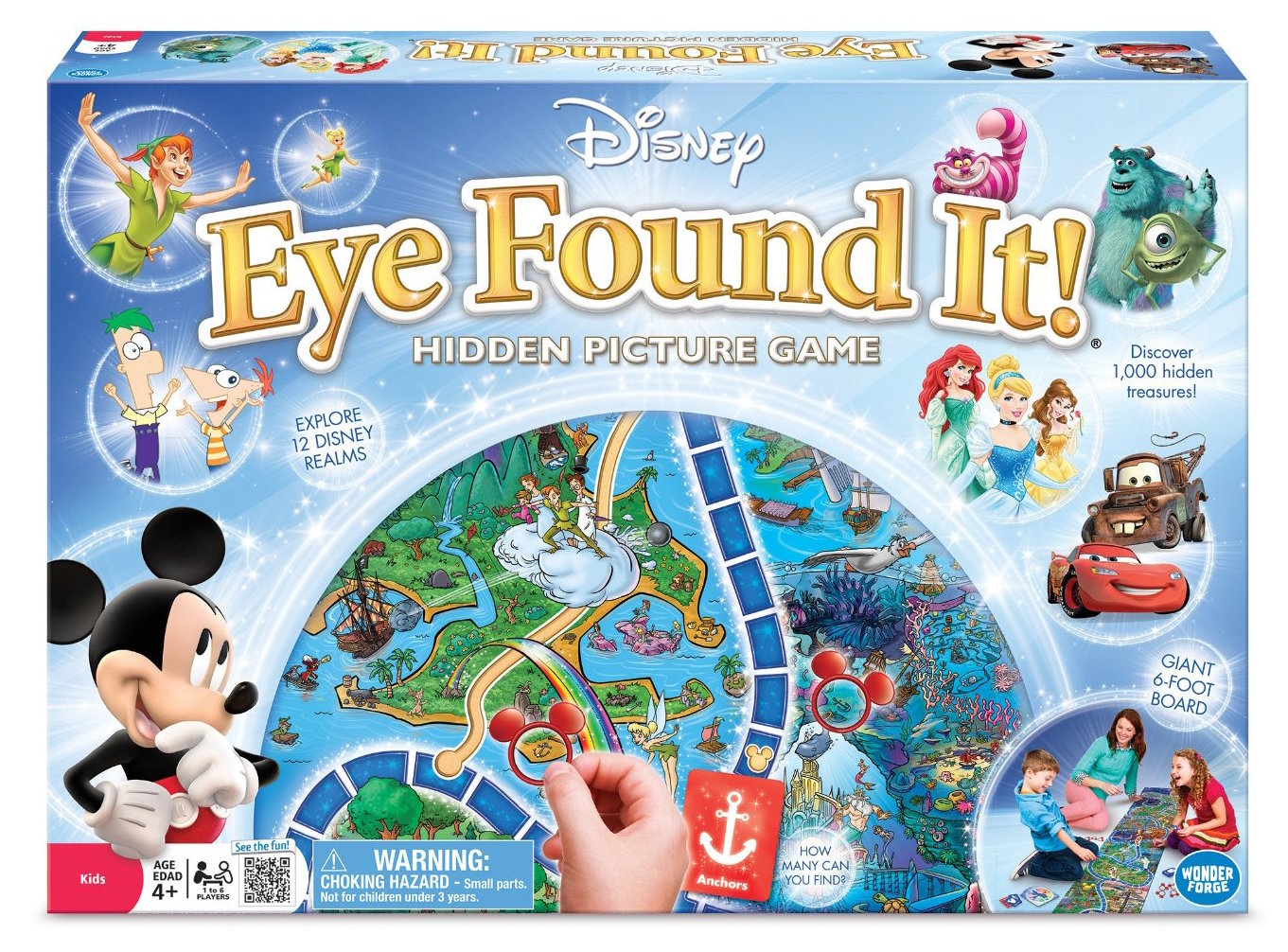 Disney Hidden Pictures Board Game for Family Time
