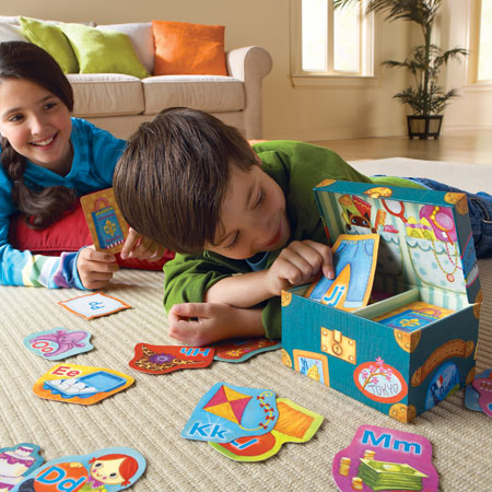 ABC Kindergarten Game for Home and School